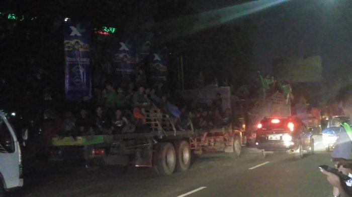 Kawal Bonek Mania yang Pulang dari Bantul, Polresta Solo Pakai Strategi Langsir