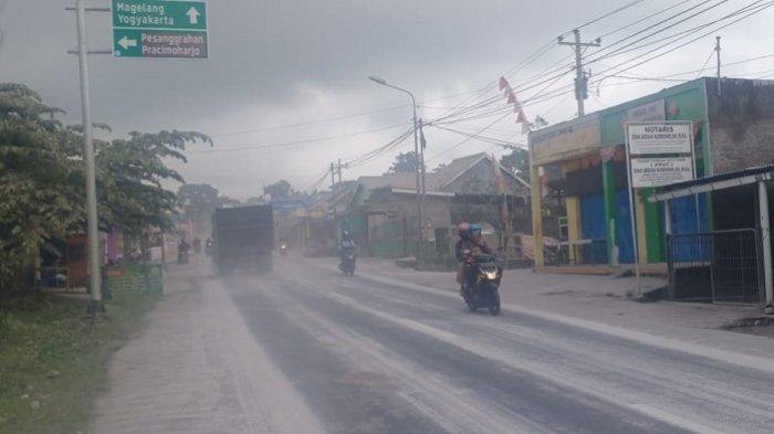Gunung Merapi Erupsi, Warga Dua Dukuh di Desa Tlogolele Dengar Suara Gemuruh, Tidak Ada Hujan Abu