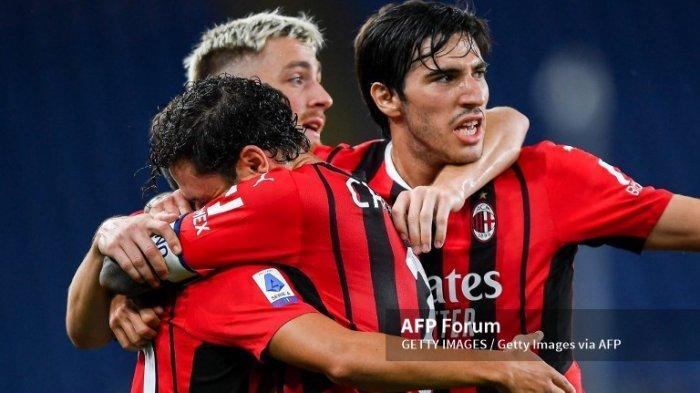 AC Milan vs Atletico Madrid, Berikut Daftar Pemain Rossoneri, Pioli Andalkan Maldini dan Giroud