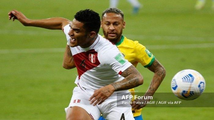 Brasil Menang Menyakinkan Hadapi Peru, Gol Neymar Sempurnakan Kemenangan Tim Samba