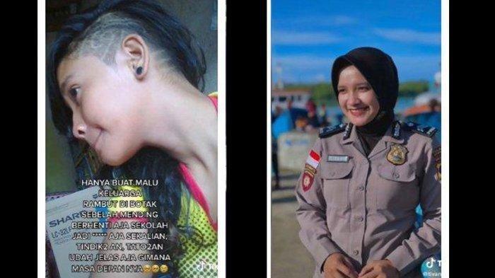 Cerita di Balik 'Pesona' Briptu Tivany : Dulu Berpenampilan Preman, Diremehkan Tak Tamat Sekolah
