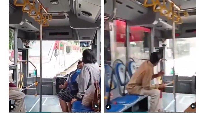 Cerita Sebenarnya Video Viral KA Batara Kresna Serempet Bus BST Solo : Dishub Akui BST di Luar Jalur