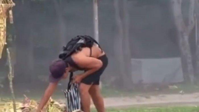 Video Viral Bule Mengais Sesaji di Pantai Kuta, Satpol PP Bali : Diduga WNA yang Pernah Ngemis