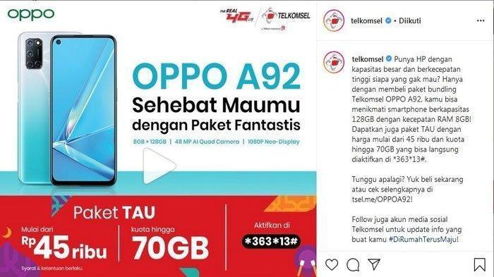 Promo Menarik Telkomsel Bundling Dan Dapatkan Paket Internet Murah hingga 70 GB, Simak Caranya