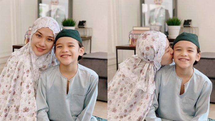 Bunga Citra Lestari Bagikan Foto Lebaran bersama Putranya Noah Sinclair, Ibu Mertua Masih di Jakarta