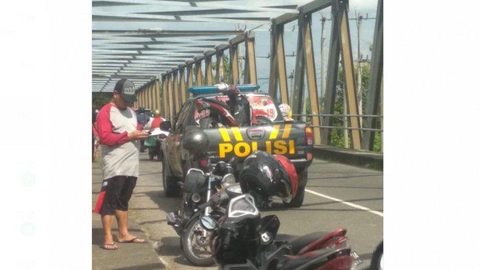 Terungkap, Motor Plat Merah di Jembatan Pondok Sukoharjo Milik Sekdes Serenan, Pengendara Menghilang