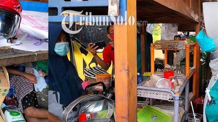 Ditawari Rusunawa oleh Bupati Sukoharjo, Keluarga yang Tinggal di Tenda HIK Kartasura Tak Luluh