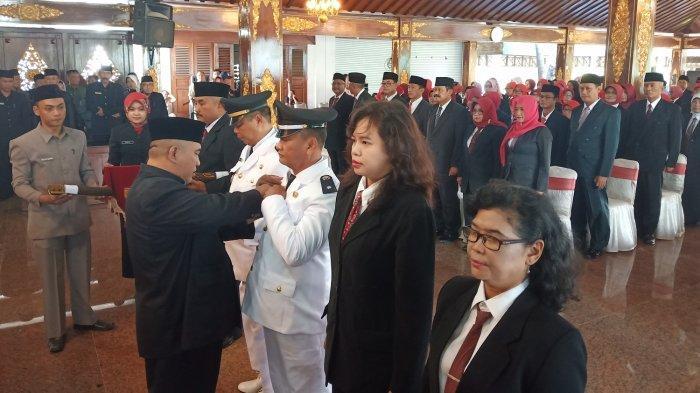 Bupati Sukoharjo Lantik 155 Pejabat Baru