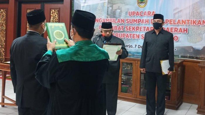 Jabatan Bupati Sukoharjo Masih Kosong, Akan Diisi Oleh PJ Sekda Mulai Hari Ini