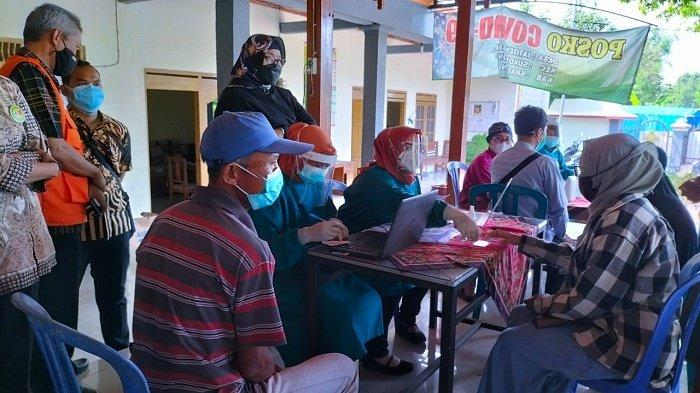 Kasus Meninggila, Pemkab Sragen Genjot Vaksinasi Sasar Lansia, Target Per Hari 100 Orang Disuntik