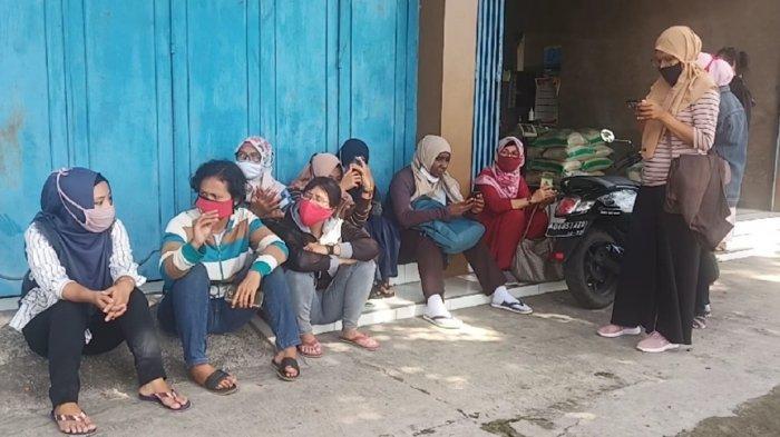 2 Bulan Tak Kunjung Dapat Gaji di Tengah Pandemi Corona, Begini Nasib Buruh CV Pi-Xu Gatak Sukoharjo