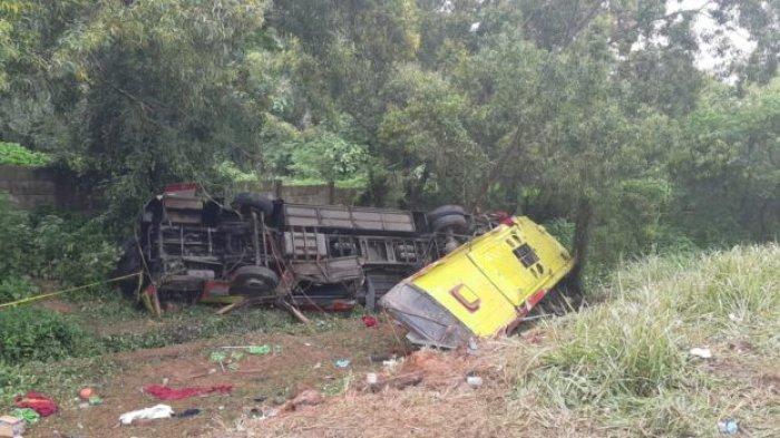 Polda Jabar Ungkap Penyebab Kecelakaan Bus yang Tewaskan 7 Orang di Tol Cipularang