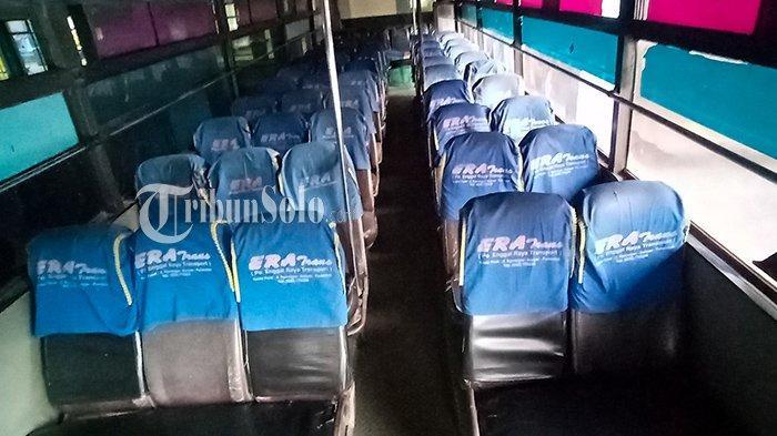 Nelangsa Bus AKDP saat Larangan Mudik : Penumpang Kosong, Tombok Beli Solar Sampai Patungan