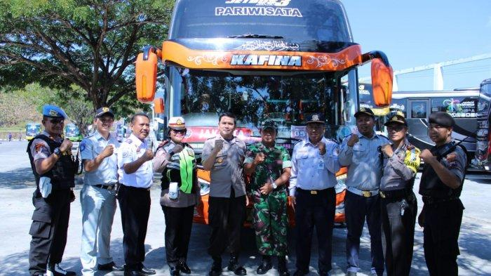 1.225 Pemudik Asal Wonogiri Kembali ke Jakarta dengan Bus Mudik Gratis