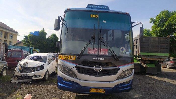 Nasib Sopir Bus Sumber Selamat yang Tabrak Pensiunan PNS di Sragen,Polisi : Kami Masih Periksa Saksi