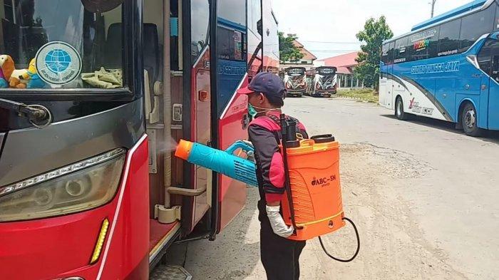 Tiba di Terminal Tipe A Giri Adipura Wonogiri, 147 Pemudik dari Jabodetabek Jalani Tes Rapid Antigen