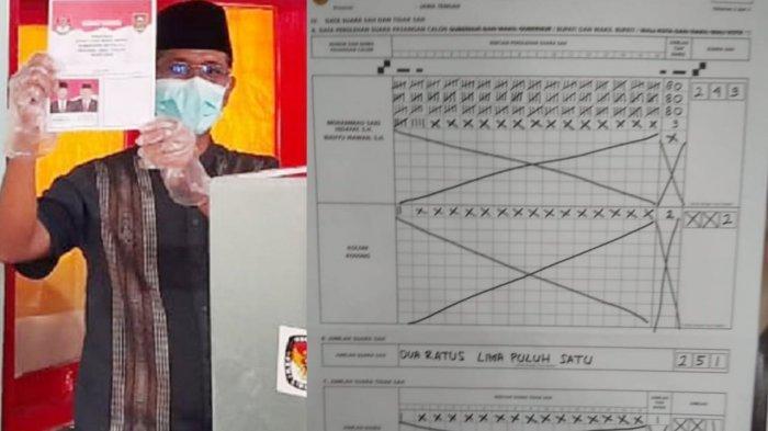 Hasil Pilkada Boyolali : Said Menang Mutlak di TPS Dekat Rumahnya 249 Suara, Kotak Kosong 2 Suara