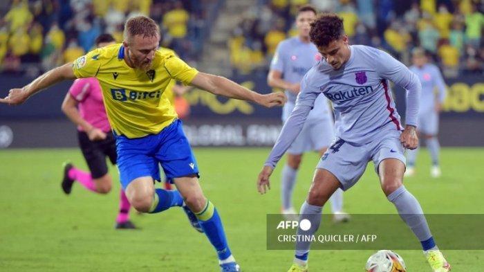 Cadiz vs Barcelona Imbang Tanpa Gol, Frenkie De Jong dan Ronald Koeman Malah Dapat Kartu Merah