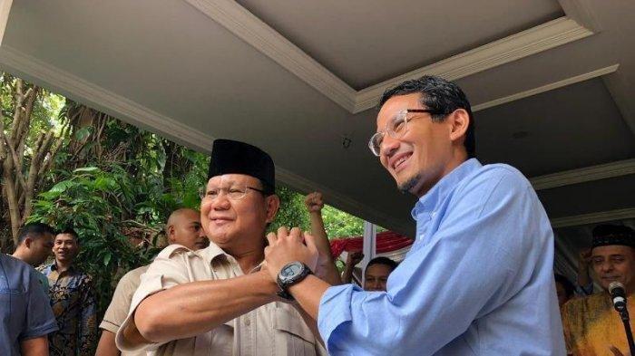 Jokowi Ingin Bertemu Prabowo Subianto, Sandiaga Uno: Tentukan Jam, Kita Datang