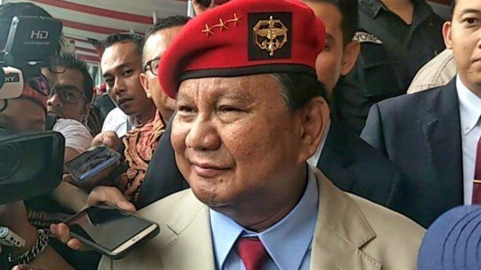 Prabowo Bawa Filosofi Si Vis Pacem Para Ballum di Depan Anggota DPR : Mau Damai Harus Siap Perang !