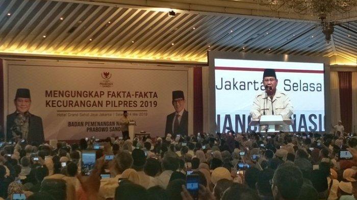 BPN Prabowo-Sandi Sebut Kecurangan Pemilu Terjadi di Pilpres Bukan Pileg