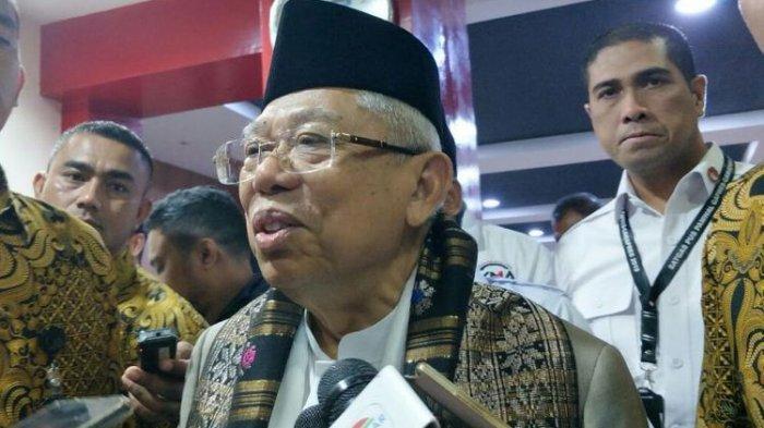 Ma'ruf Amin Sebut Jokowi Telah Bangun 'Tol Langit' dan Singgung Unicorn