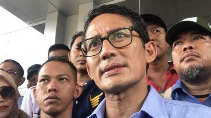 Sandiaga Uno Tak Mau Dukung Seruan Waketum Partai Gerindra untuk Tak Bayar Pajak