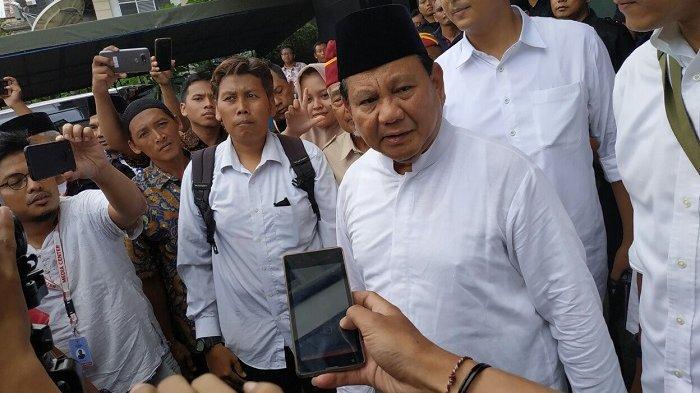 Prabowo Janji Sediakan Pupuk Murah untuk Petani bila Ia Menang Pilpres