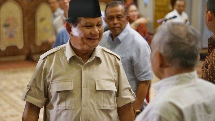 Tanggapi Pertanyaan Soal Pertemuannya dengan Jokowi Usai Putusan MK,Prabowo: InsyaAllah Nanti Diatur