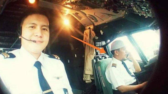 Viral Foto WhatsApp Terakhir Captain Afwan Pilot Sriwijaya Air SJ-182, Ingatkan Salat dan Akhirat