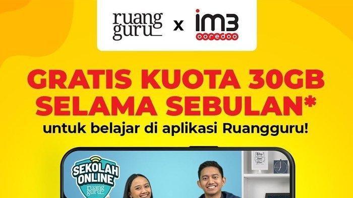 cara aktifkan kuota gratis 30gb indosat ooredoo