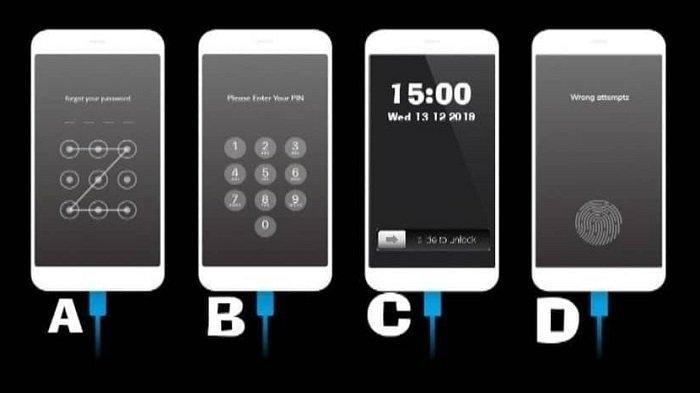 Tes Kepribadian - Cara Mengunci Ponsel Ternyata Bisa Ungkap Karakter Seseorang, Begini Penjelasannya