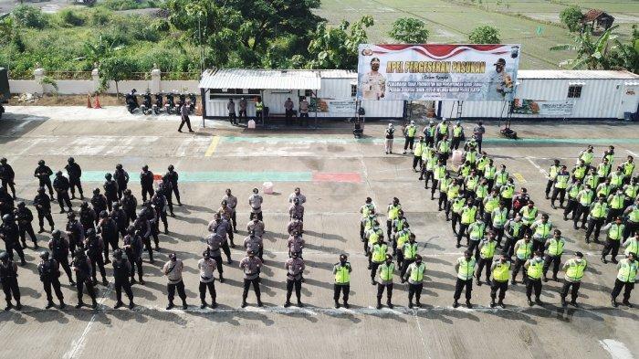 Aparat Polres dan Kodim Klaten Terjunkan 120 Personel Amankan Pelantikan Bupati Klaten