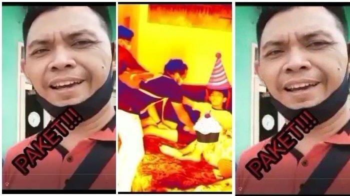 Video Viral Aksi Kocak Polisi saat Penangkapan, Ini Cerita di Baliknya : Pelaku Sudah Buron