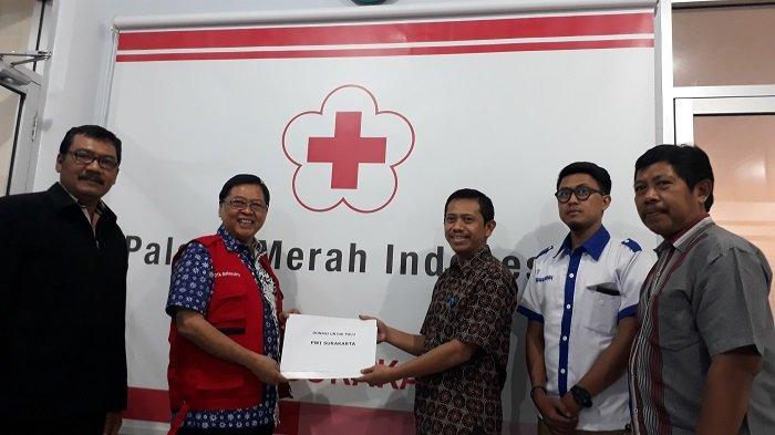 PWI Surakarta Serahkan Bantuan Kemanusiaan untuk Korban Gempa di Sulteng