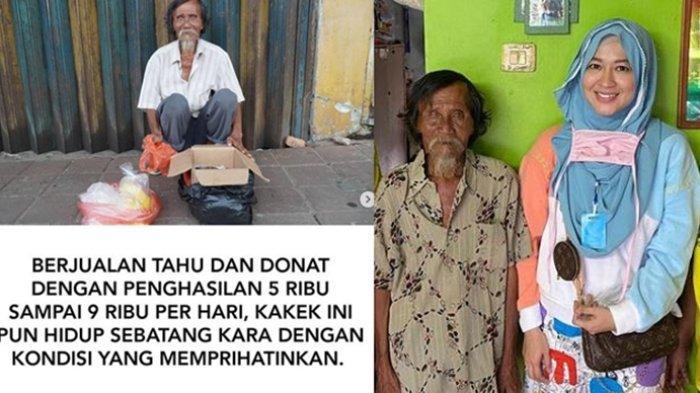 Cerita Okie Agustina Terharu Lihat Penjual Donat Sebatang Kara, Baru Sadar Ternyata Dulu Tetangganya
