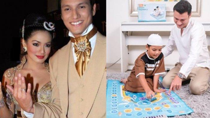 Christian Sugiono Ajarkan Putra Sulungnya untuk Menjadikan Sholat Sebagai Kebutuhan Sejak Dini