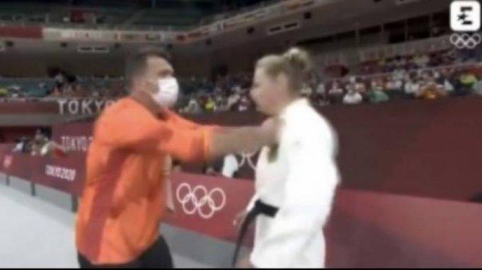 Viral Pelatih Judo Tampar Wajah Atlet Olimpiade Sebelum Tanding, Ternyata Begini Kejadian Sebenarnya