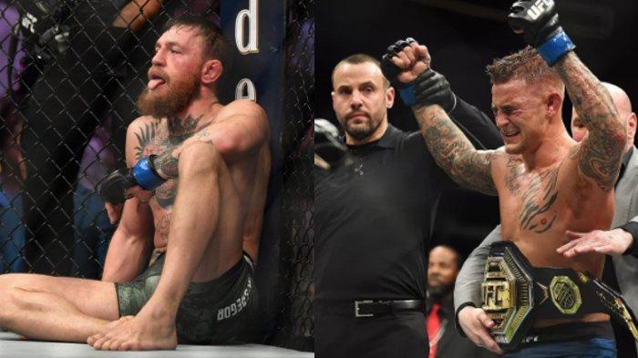 Kondisi Conor McGregor Usai Kalah dari Poirier, Pincang dengan Dibantu Kruk saat Jalan
