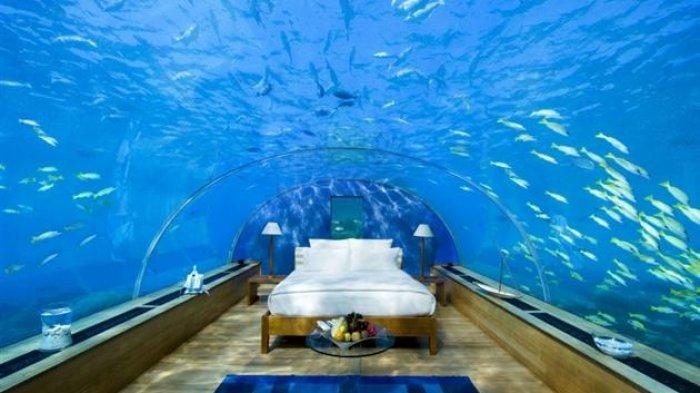 Maldives Segera Punya Hotel Bawah Laut Pertama di Dunia, Intip Fasilitas Mewahnya