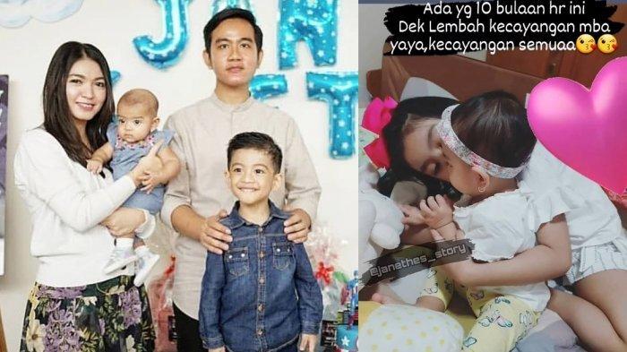 Cucu Jokowi La Lembah Manah Ultah, Gibran : Acara Sederhana di Rumah, Masih Corona di Rumah Saja