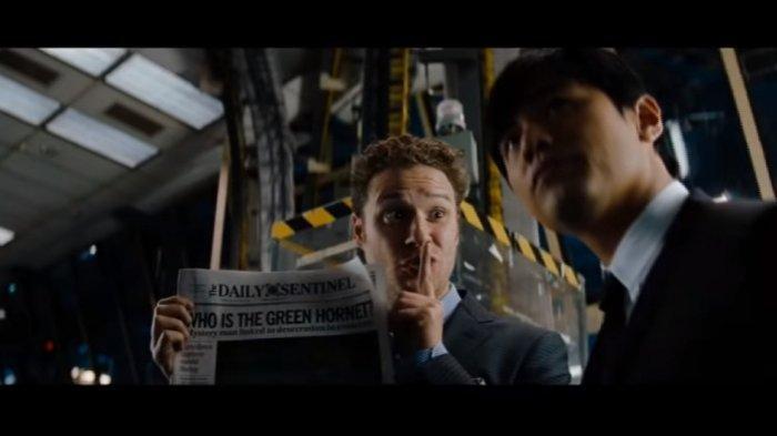 Sinopsis & Trailer Film The Green Hornet Tayang Malam Ini Pukul 21.30 WIB di Trans TV