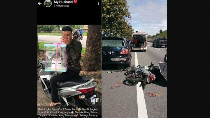 Cerita Pilu Balqis, Sehari Usai Diberi Prank Ultah, Suami Koma Kecelakaan, Curhatnya Viral di FB