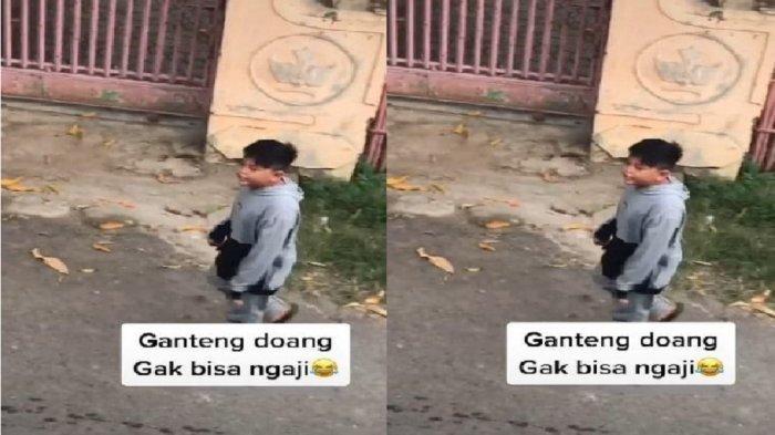 Viral Pemuda Diejek Ganteng Doang Tak Bisa Ngaji oleh Bocah, Berawal dari Iseng, Begini Kisahnya