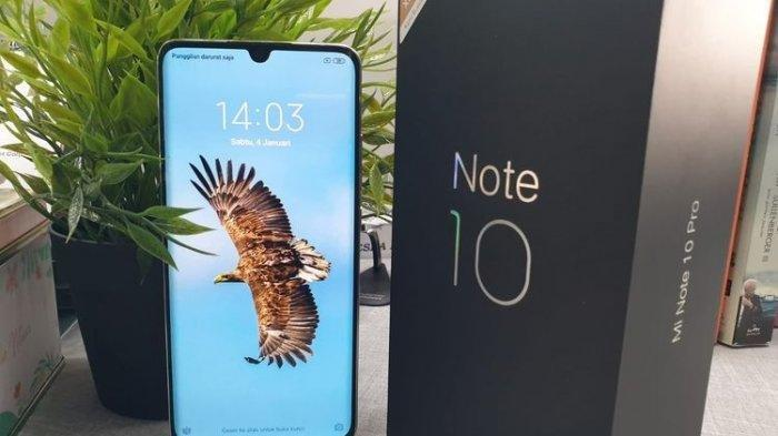 Daftar Harga HP Xiaomi Terbaru April 2020, Mi Note 10 Pro Mulai Rp 6,9 Jutaan