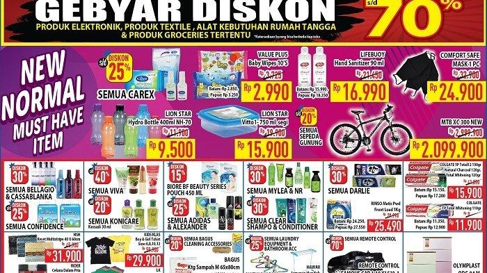 Katalog Promo Hypermart, Berlaku 19 - 22 Juni 2020, Dapatkan Diskon Produk Sembako Berikut