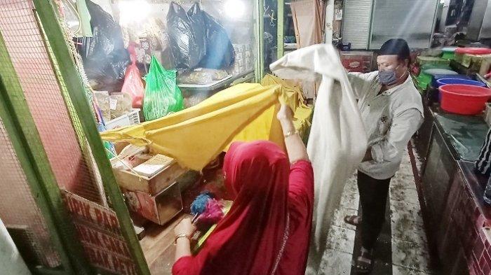 Nestapa Pedagang Pasar Gede Solo : Berbulan-bulan Ini Pemasukan Anjlok kena Pandemi, Kini Ditutup