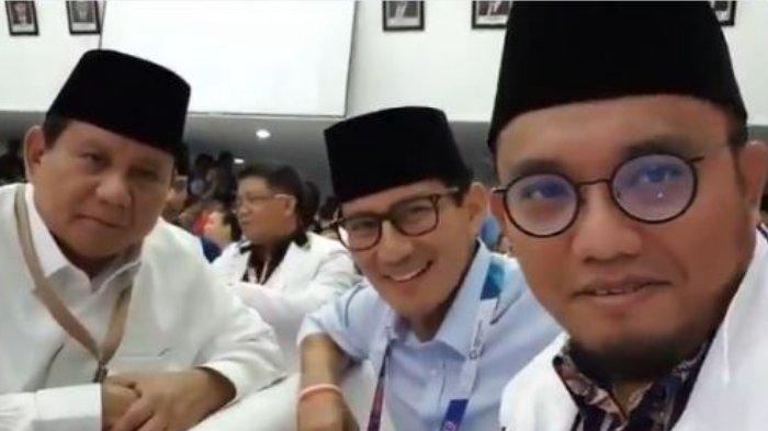 Berkaca Survei Internal, Dahnil Anzar Yakin Prabowo-Sandi Bisa Raup Suara di Atas 60 Persen