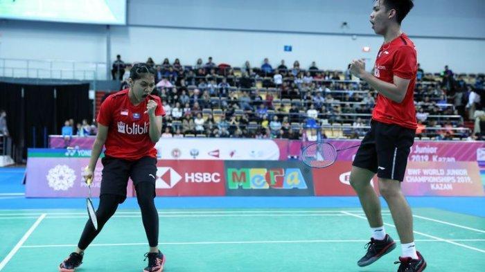Sejarah Baru bagi Indonesia, Tim Bulu Tangkis Junior Beregu Campuran Indonesia Jadi Juara Dunia