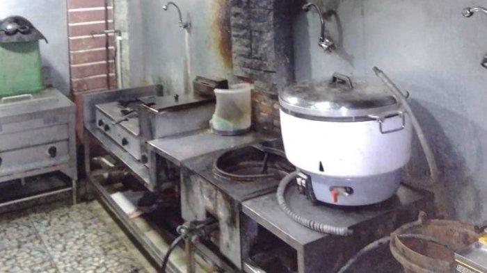 Lupa Matikan Oven, Sebuah Dapur Terbakar Nyaris Membesar dan Melenyapkan Seisi Rumah di Sragen